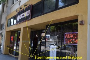 Steel Moment Frame On Soft story building